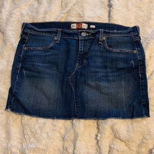 Old Navy demim mini skirt